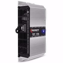 Fonte Automotiva Taramps Tef 15a 127 Volt Carregador Bateria