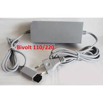 Fonte De Energia Bivolt 110/220v Para Nintendo Wii