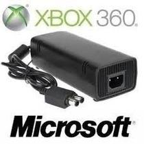 Fonte Xbox 360 Slim Original Microsoft 110v + Frete Grátis
