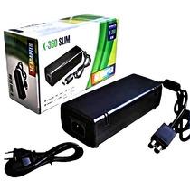 Fonte Xbox 360 Slim Bivolt 110v 220v Alimentação Xbox Slim