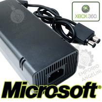 Fonte Original Microsoft 110v Para Xbox 360 Slim