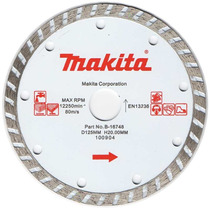 Disco Diamantado Makita 5 Concreto/granito Turbo Br Origina
