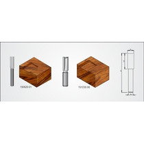 Fresa Para Tupia Manual Marca Radix Ref.151230.06 H-12mm