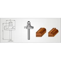 Fresa Decorativa P/tupia Manual Radix G19-74130 E H-6mm