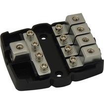 Porta Fusível Distribuidor Mini Faca Anl 4 Vias Technoise