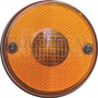 Lanterna Redonda Traseira/lateral Amarela P Caminhão