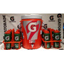 Cooler 19 Lts + 2 Suporte P/ Squeezes + 12 Squeezes Gatorade