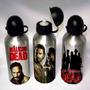 Squeeze Garrafa Metal Alumínio The Walking Dead Séries 500ml