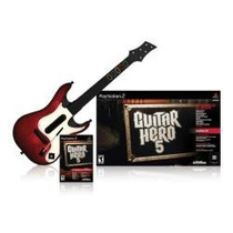 Loucura Mais Barato Do Ml Guitar Hero 5 Ps2 Jogo E Guitarra