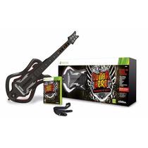 Recondicionado Guitarra Guitar Hero Warriors Of Rock Xbox360