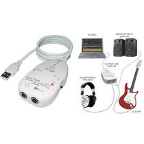 Behringer Ucg 102 Interface Gravação Usb Guitar Link Ucg102