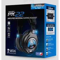 Headset Turtle Beach Ear Force Px22 Ps4 Xbox One Ps3 Pc