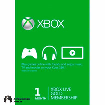 Xbox Live Gold Brasil 1 Mes - Assinatura Xbox Live Gold