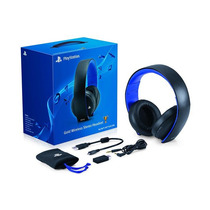 Headset Gold 7.1 Wireless Stereo Ps3 Ps4 Ps Vita Pc