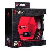 Headset Com Fio Tutle Beach Ear Force P11 - Ps3, Pc