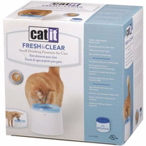 Fonte Bebedouro Cat It Fresh & Clear 110v 2 L Frete Gratis
