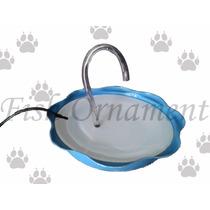 Fonte Bebedouro Gatos Com Filtro 110v Azul Fish Ornament