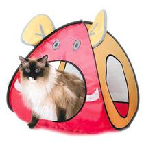 Tenda,toca,cama,casinha P/ Cães Gatos 45x45x52cm