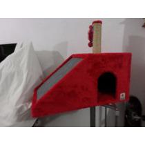 Arranhador Para Gatos Casa Com Rampa G