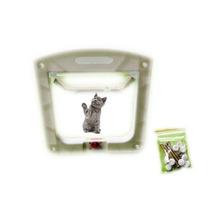 Porta Para Gatos Ou Cachorros 4 Em 1 Pet Door
