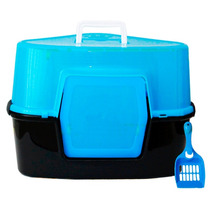 Caixa Higiênica Banheiro Gatos C/ Cobertura Western #pet-26