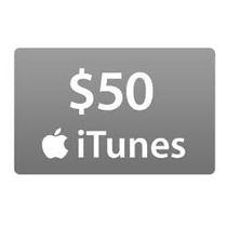 Itunes Gift Card $50 - 50 Dolares Cartão Promoção Megakeys!!