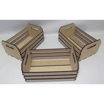 Conjunto 3 Caixas Grade - Mdf - Decoração