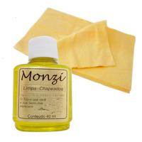 Kit Limpa Chapeados Monzi 35ml + 5 Flanelas Pano Mágico
