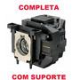 Lâmpada Projetor Epson S12 X14 W11 W12 Elplp67 Completa