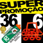Kit 36 Squeeze Gatorade G02 Profissional + 6 Suporte Laranja