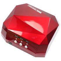 Cabine Forno Led Para Unhas Gel Modelo Luxo Timer 220w