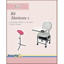 Kit Manicure 1 - Cirandinha Manicure + Suporte Parapé