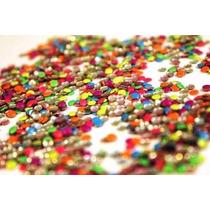 Kit Manicure Para Unhas Decoração Esmalte Strass Adesivo