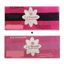 Descartáveis La Beuaté - Kit Manicure + Kit Pedicure 20pares
