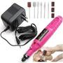 Lixa Unha Elétrica Manicure Profissional Pedicure 110v 220v