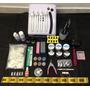 Mega Kit Unha Gel, Acrígel - Cabine Forno Uv 36w 220v