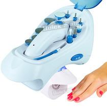 Kit Manicure Pedicure Elétrico Premium 3000 C/ Secador Unhas