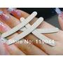 8 Lixas Banana Para Manicure E 2 Blocos De Polir