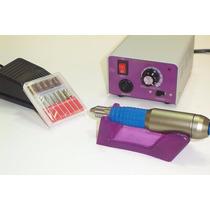 Lixa Unha Elétrica Manicure Pedicure Profissional C/ Pedal