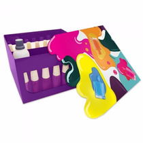 Caixa Manicure Porta Esmaltes Unha C Divisão - Frete Barato