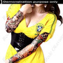 Tatuagem Falsa ,fake Tattoo Sleeve Tecido Fino Frete Grátis