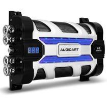 Mega Capacitor 10 Farad Som Automotivo 10.000w C/ Voltimetro