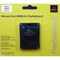 Memory Card 8mb For Playstation2 100%original Frete 6reais
