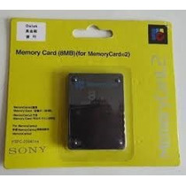 Memory Card Ps2 Sony Kit 5pc 8 Mb Lacradas A Pronta Entreg