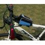 Bolsa De Quadro Bike Porta Celular Ciclismo + Brinde