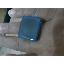 Anel Quartzo Azul- Inteiriço