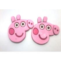 Bandeirinhas Personalizadas Peppa Pig P/tiras De Chinelos