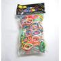 Conjunto De Elásticos Para Pulseira Reposição - Rainbow Loom