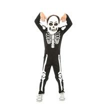 Fantasia De Halloween Infantil P/ Menino Esqueleto C/máscara