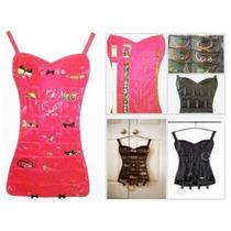 Organizador De Bijuterias Para Cabide Vestido Preto E Rosa